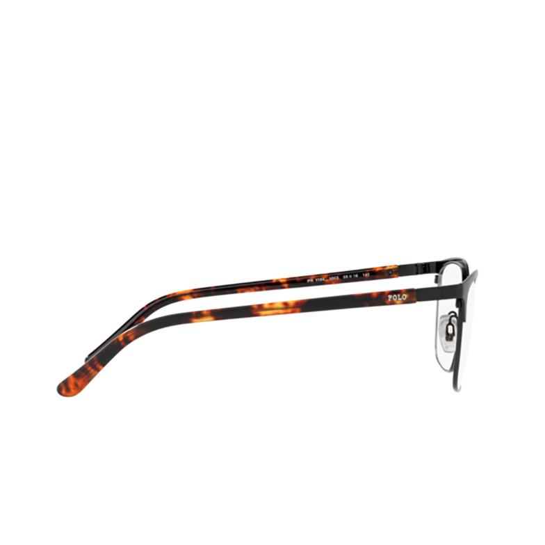 Polo Ralph Lauren® Square Eyeglasses: PH1184 color Shiny Black 9003.