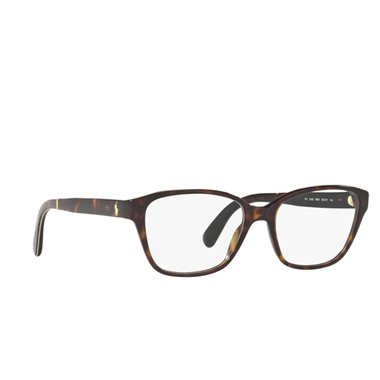 Polo Ralph Lauren® Rectangle Eyeglasses: PH2165 color Dark Havana 5003.
