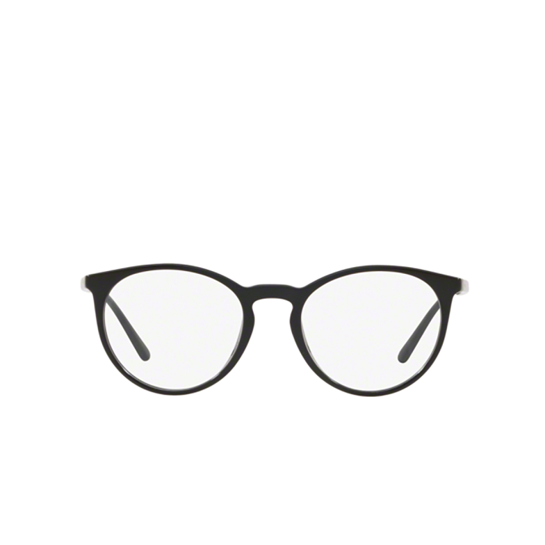 Polo Ralph Lauren® Round Eyeglasses: PH2193 color Shiny Black 5001.