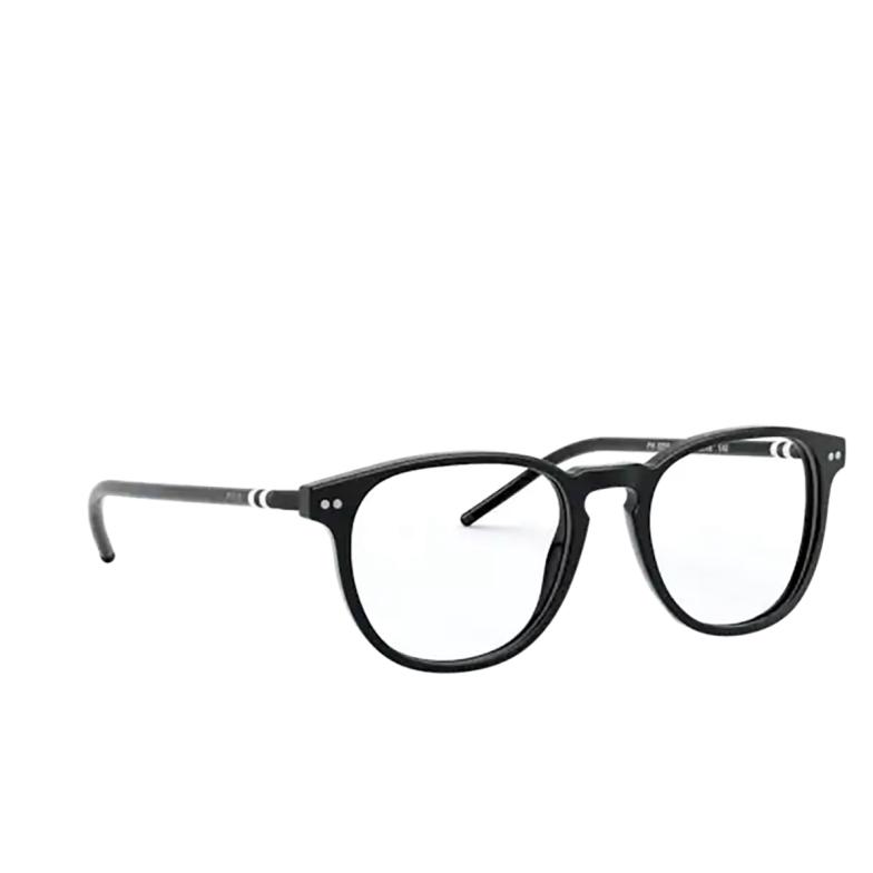 Polo Ralph Lauren® Square Eyeglasses: PH2225 color Shiny Black 5001.