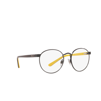 Polo Ralph Lauren® Round Eyeglasses: PP8040 color Shiny Black 9003.