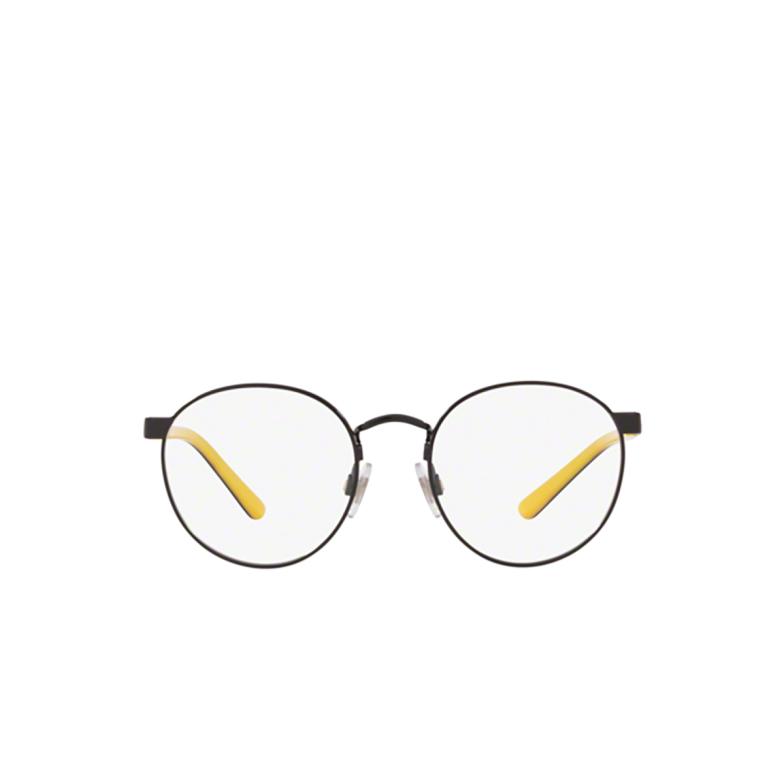 Polo Ralph Lauren® Round Eyeglasses: PP8040 color Shiny Black 9003.