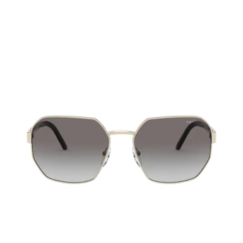 Prada® Rectangle Sunglasses: Millennials PR 54XS color Pale Gold ZVN5O0.