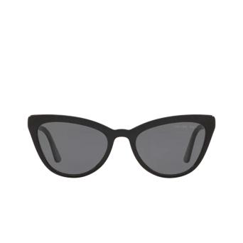 Prada® Cat-eye Sunglasses: PR 01VS color Black 1AB5Z1.
