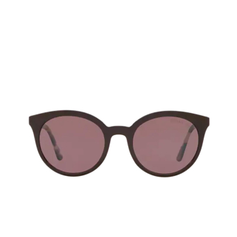 Prada® Round Sunglasses: PR 02XS color Brown DHO04C.