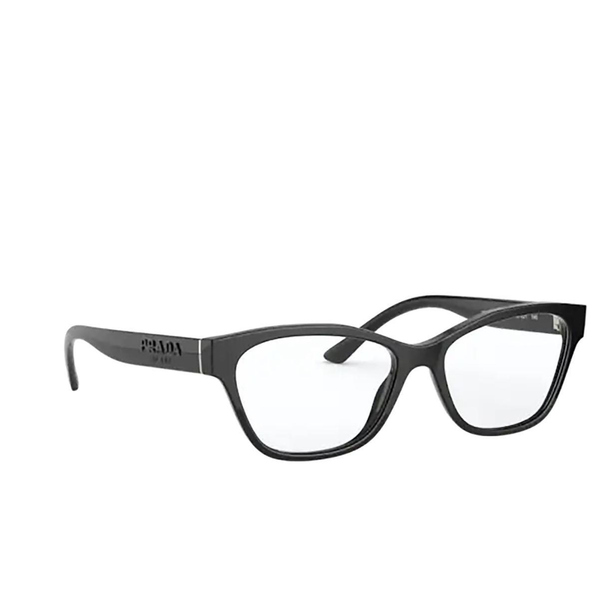 Prada® Cat-eye Eyeglasses: PR 03WV color Black 1AB1O1.