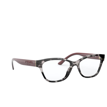 Prada® Cat-eye Eyeglasses: PR 03WV color Spotted Grey 5101O1.