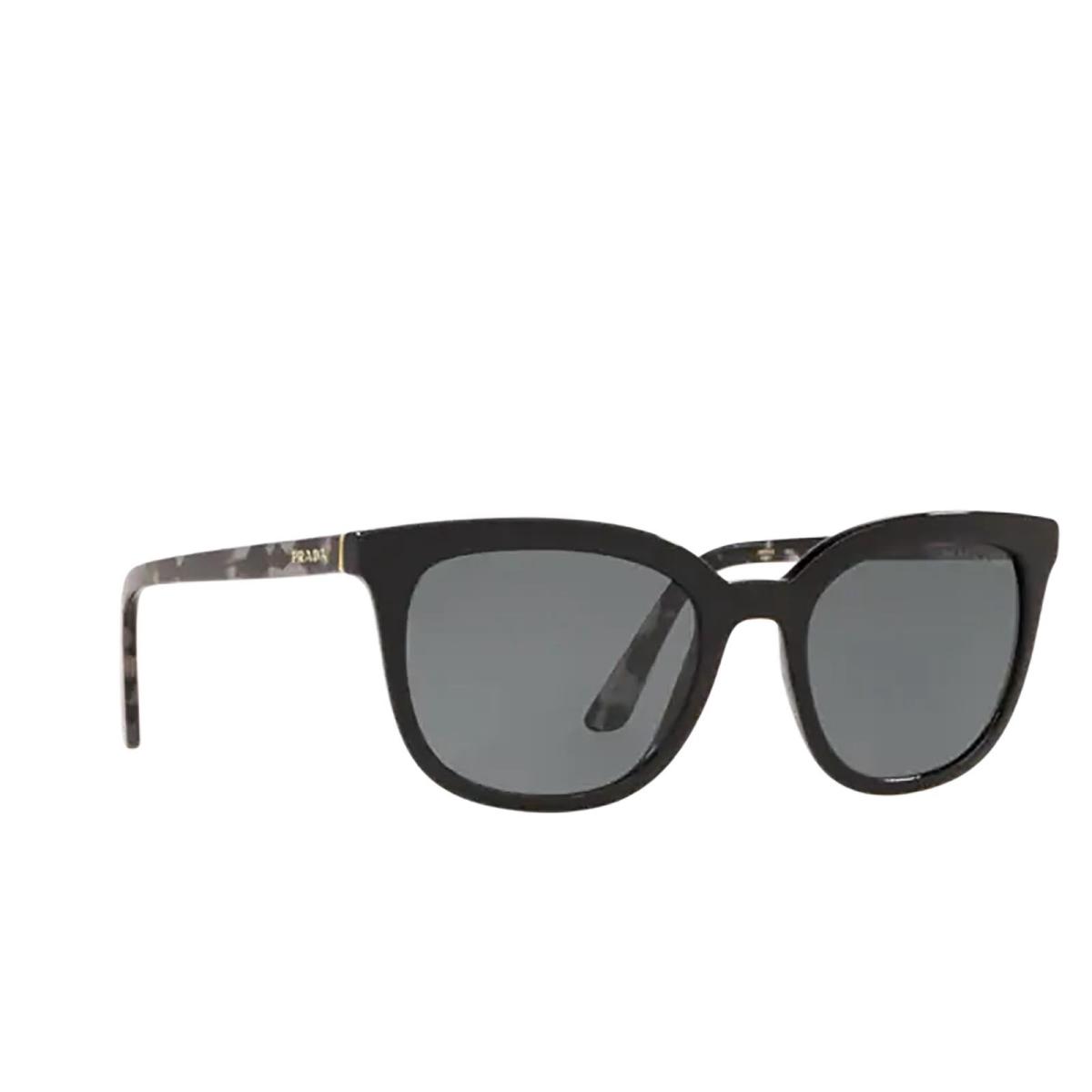 Prada® Square Sunglasses: PR 03XS color Black 1AB5Z1.