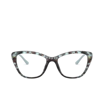 Prada® Butterfly Eyeglasses: PR 04WV color Spotted Blue 05H1O1.