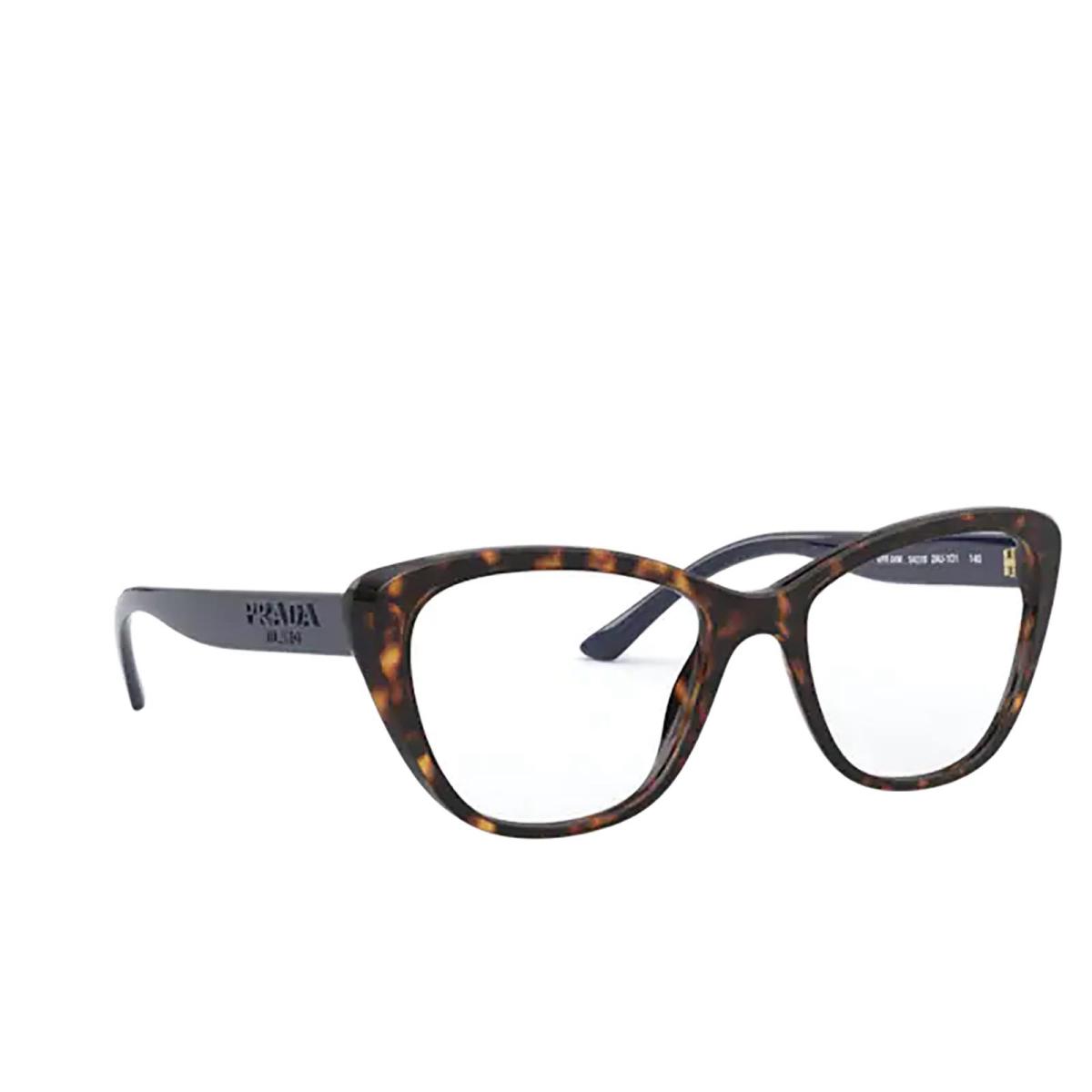 Prada® Butterfly Eyeglasses: PR 04WV color Havana 2AU1O1.