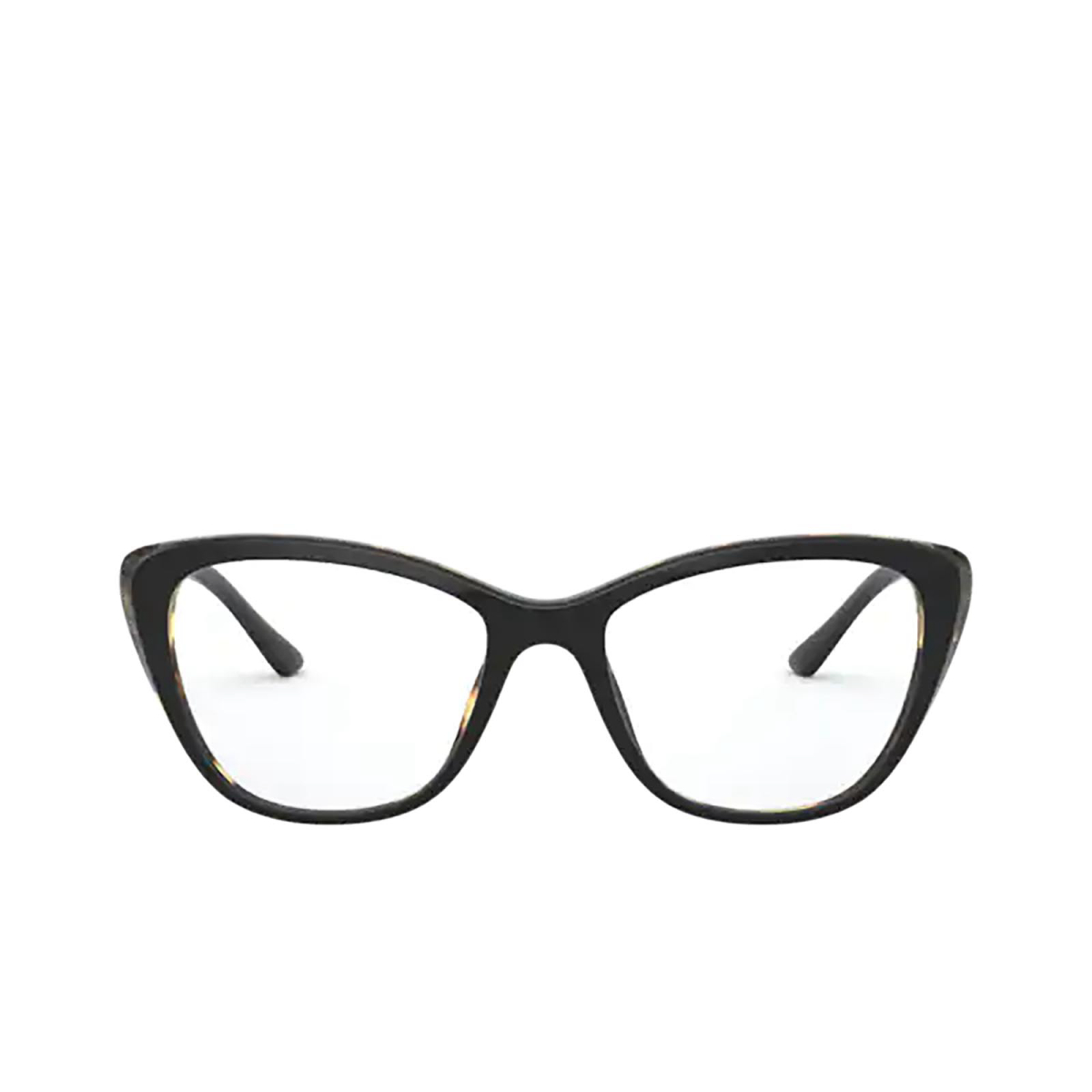 Prada® Butterfly Eyeglasses: PR 04WV color Black / Medium Havana 3891O1.