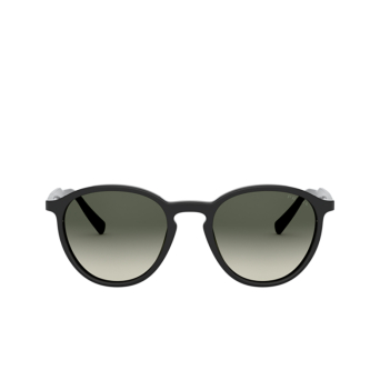 Prada® Round Sunglasses: PR 05XS color Black 1AB2D0.