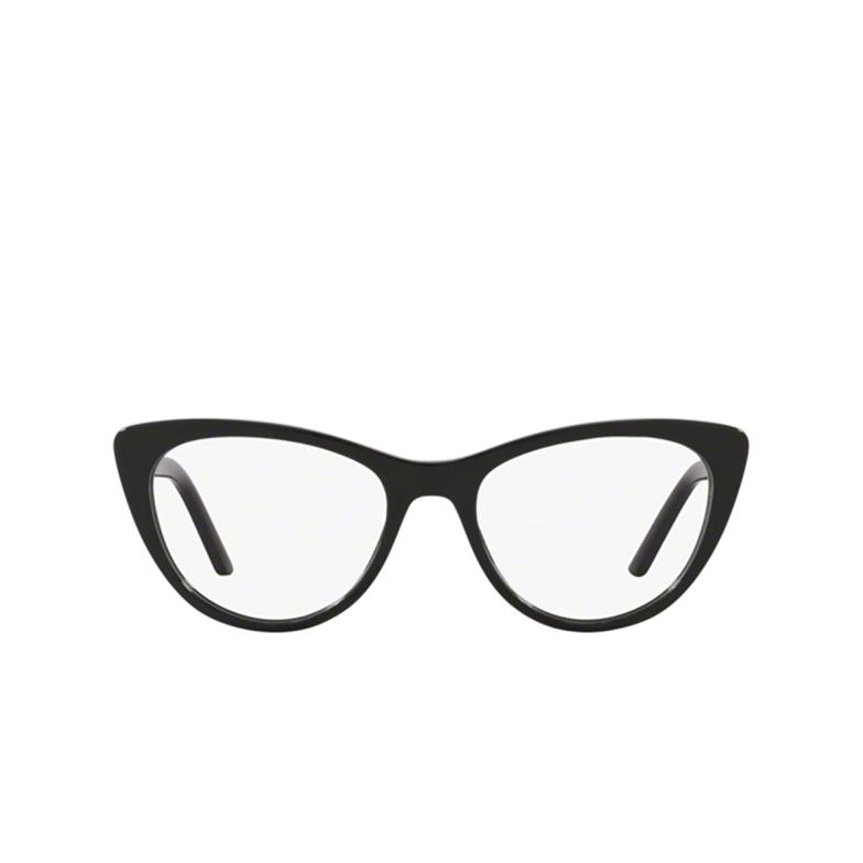 Prada® Cat-eye Eyeglasses: PR 05XV color Black 1AB1O1.