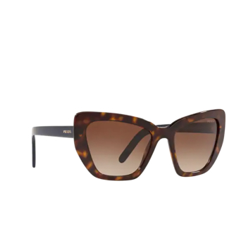 Prada® Cat-eye Sunglasses: PR 08VS color Havana 2AU6S1.