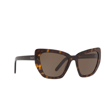 Prada® Butterfly Sunglasses: PR 08VS color Havana 2AU8C1.