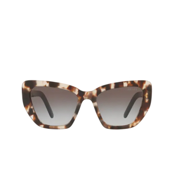 Prada® Cat-eye Sunglasses: PR 08VS color Spotted Brown UAO0A7.