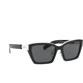 Prada® Cat-eye Sunglasses: PR 14XS color Black 02C5S0.