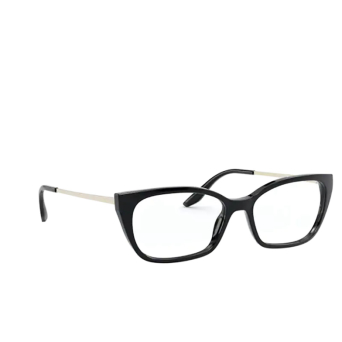 Prada® Cat-eye Eyeglasses: PR 14XV color Black 1AB1O1.