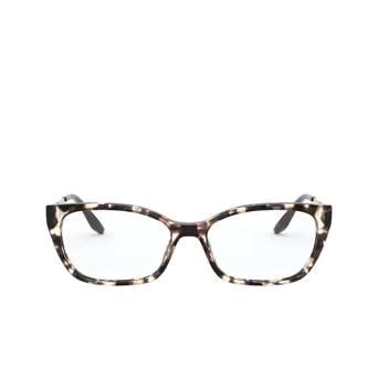 Prada® Cat-eye Eyeglasses: PR 14XV color Spotted Brown UAO1O1.