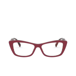 Prada® Eyeglasses: PR 15XV color Red / Havana 07C1O1.