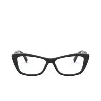 Prada® Cat-eye Eyeglasses: PR 15XV color Black 1AB1O1.