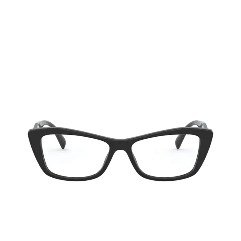 Prada® Cat-eye Eyeglasses: PR 15XV color Black 1AB1O1.