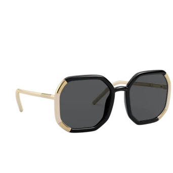 Prada® Square Sunglasses: PR 20XS color Black 02F5S0.