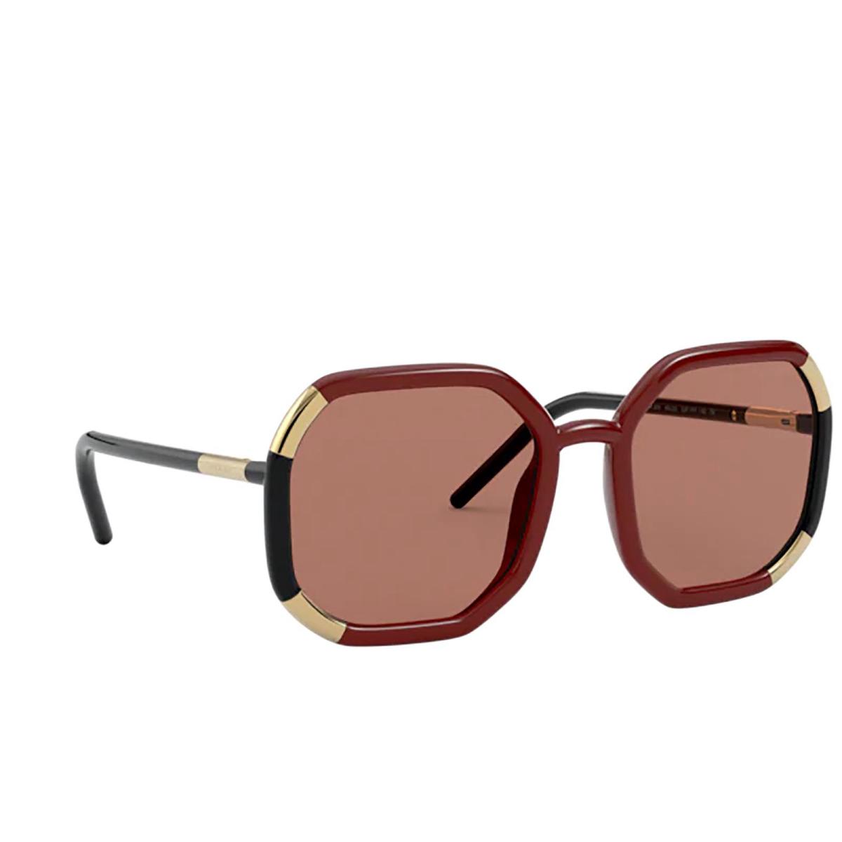 Prada® Square Sunglasses: PR 20XS color Brown 03F1P1.