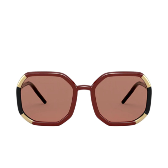 Prada® Square Sunglasses: PR 20XS color Brown 03F1P1.