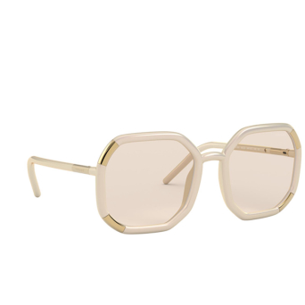 Prada® Square Sunglasses: PR 20XS color Ivory 04F07C.