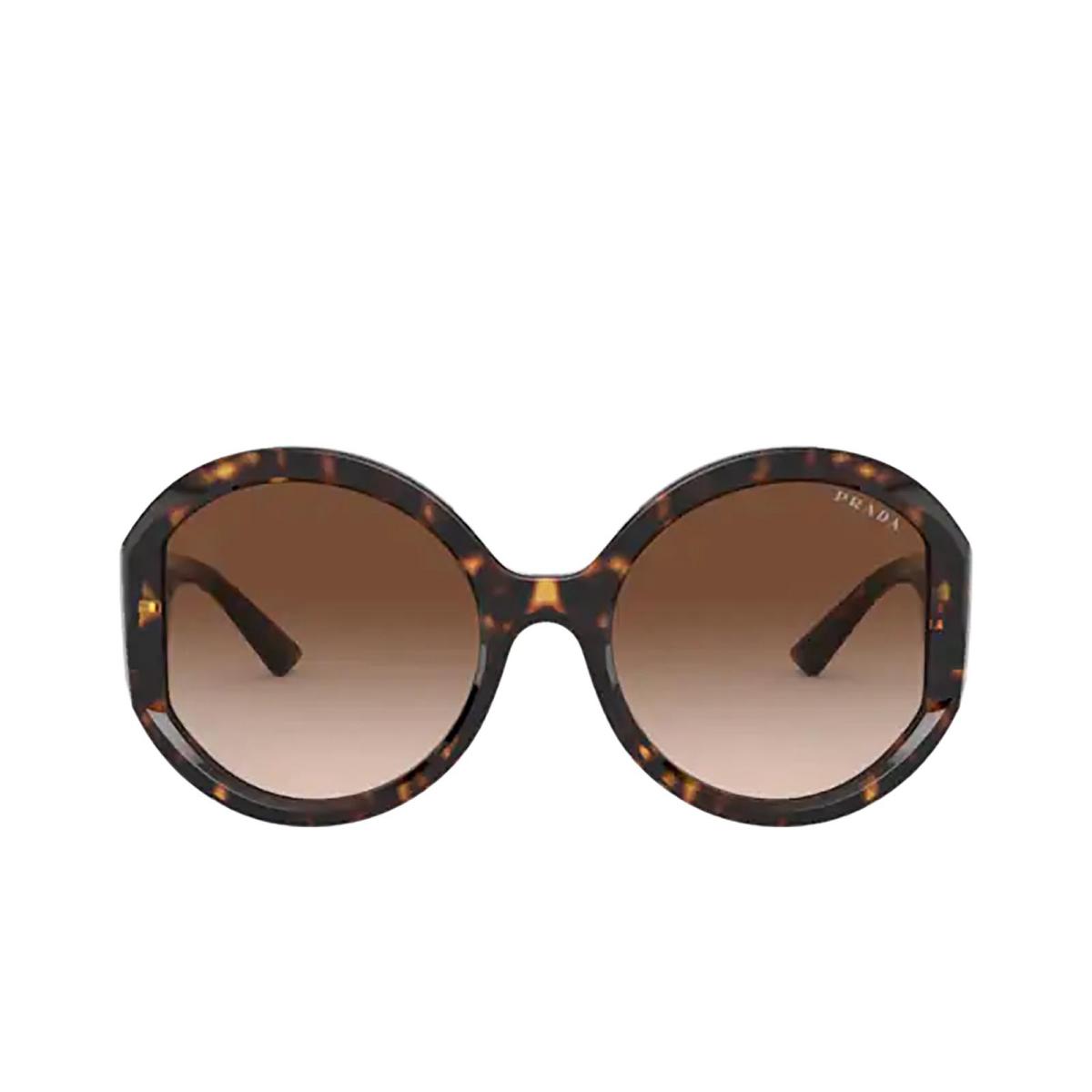 Prada® Round Sunglasses: PR 22XS color Havana 2AU6S1.