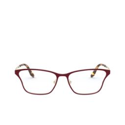 Prada® Eyeglasses: PR 60XV color Top Bordeaux / Pale Gold 5521O1.
