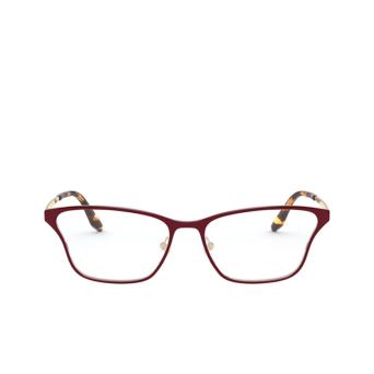Prada® Butterfly Eyeglasses: PR 60XV color Top Bordeaux / Pale Gold 5521O1.