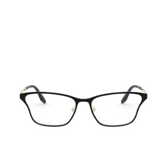 Prada® Butterfly Eyeglasses: PR 60XV color Top Black / Pale Gold AAV1O1.