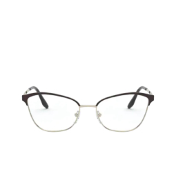 Prada® Eyeglasses: PR 62XV color Black / Light Gold AAV1O1.