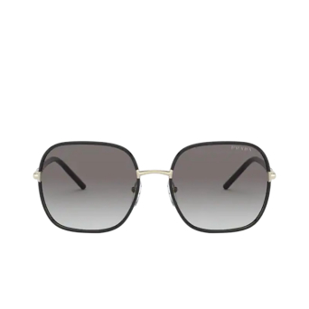 Prada® Square Sunglasses: PR 67XS color Pale Gold / Black AAV0A7.