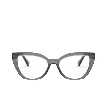 Ralph Lauren® Cat-eye Eyeglasses: RA7112 color Shiny Transparent Grey 5799.
