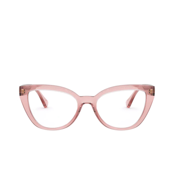 Ralph Lauren® Cat-eye Eyeglasses: RA7112 color Shiny Transparent Pink 5801.