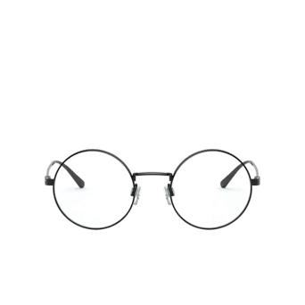 Ralph Lauren® Round Eyeglasses: RL5109 color Shiny Black 9003.