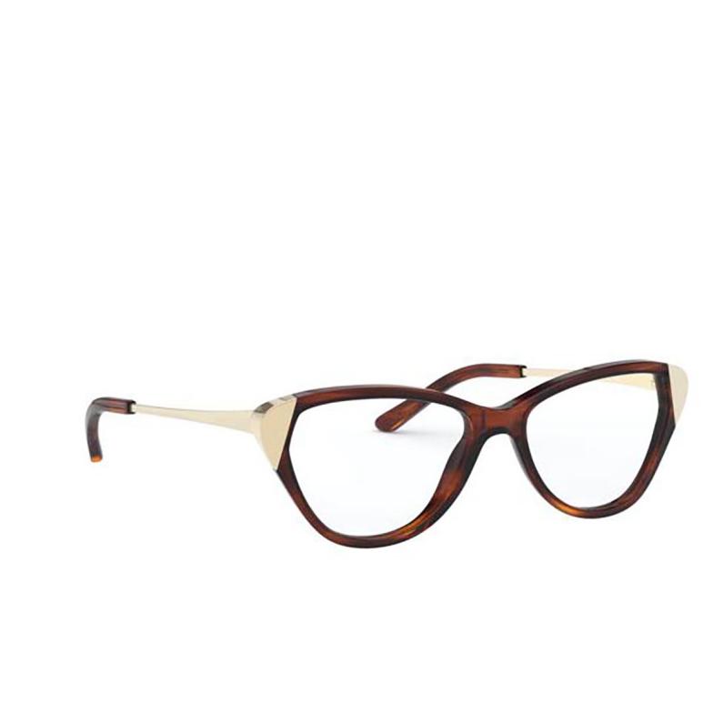 Ralph Lauren® Cat-eye Eyeglasses: RL6191 color Shiny Striped Havana 5007.