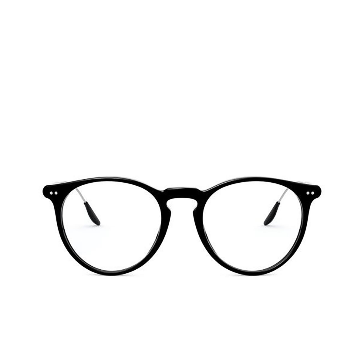 Ralph Lauren® Round Eyeglasses: RL6195P color Shiny Black 5001.