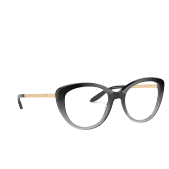 Ralph Lauren® Butterfly Eyeglasses: RL6199 color Shiny Black Gradient Grey 5835.
