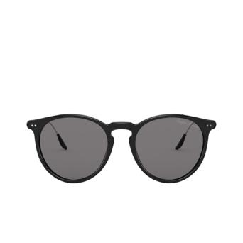 Ralph Lauren® Round Sunglasses: RL8181P color Shiny Black 5001R5.