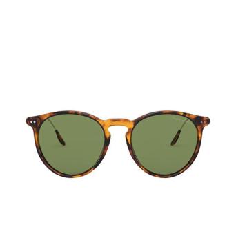 Ralph Lauren® Round Sunglasses: RL8181P color Shiny Antique Havana 52494E.