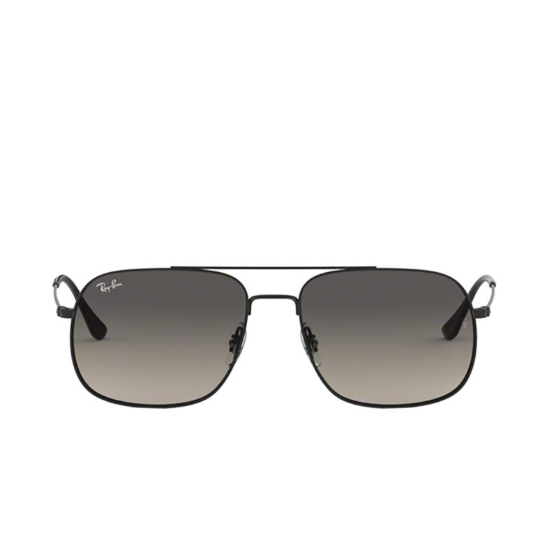 Ray-Ban® Square Sunglasses: Andrea RB3595 color Rubber Black 901411.