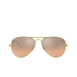 Ray-Ban® Sunglasses: Aviator Large Metal RB3025 color Arista 001/3E.