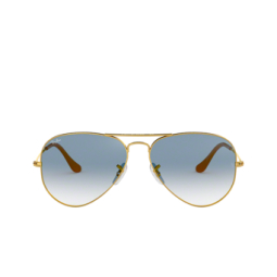 Ray-Ban® Sunglasses: Aviator Large Metal RB3025 color Arista 001/3F.