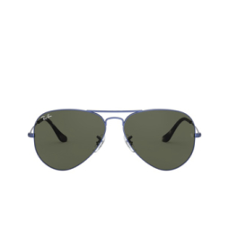 Ray-Ban® Sunglasses: Aviator Large Metal RB3025 color Sand Transparent Blue 918731.