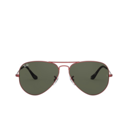 Ray-Ban® Sunglasses: Aviator Large Metal RB3025 color Sand Transparent Red 918831.