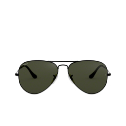 Ray-Ban® Sunglasses: Aviator Large Metal RB3025 color Black L2823.